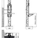 Мачтовый подъемник грузовой строительный складской ПМГ-1-А