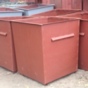 Контейнер для мусора 0,75 м3 металл 1,5 мм