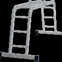 Четырёхсекционная алюминиевая многофункциональная лестница трансформер NV 1320