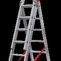 Лестница алюминиевая трёхсекционная NV 2230