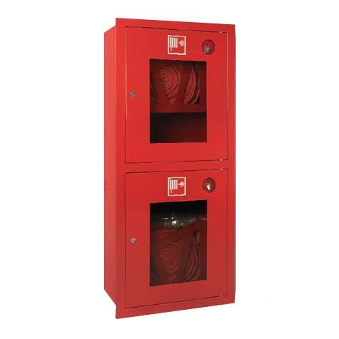 Шкаф для пожарного крана навесной с окном - ШПК-320 Н0К/Б -21