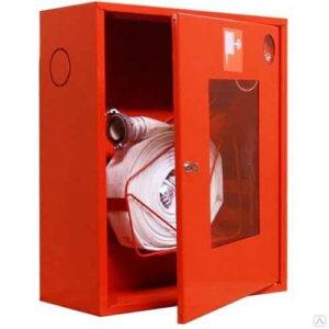 Шкаф для пожарных кранов навесной с окном - ШПК-310 НОК
