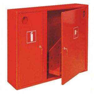 Шкаф для пожарных кранов навесной без окна - ШПК-315 НЗК
