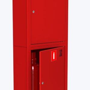 Шкаф для пожарного крана навесной без окна - ШПК-320 НЗК