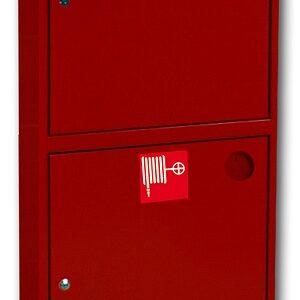 Шкаф для пожарного крана встроенный без окна - ШПК-320 ВЗК/Б-21