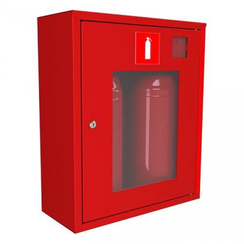Шкаф навесной с окном для хранения 2-3 огнетушителей - ШПО-113